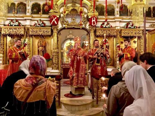 Васкрс на Подворју СПЦ у Москви (28.04.2019)