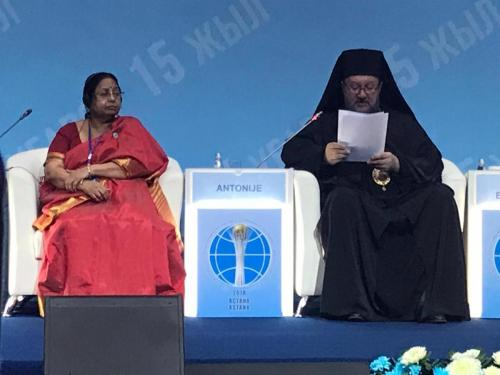 Обраћање Епископа Антонија на Форуму у Астани (11.10.2018)