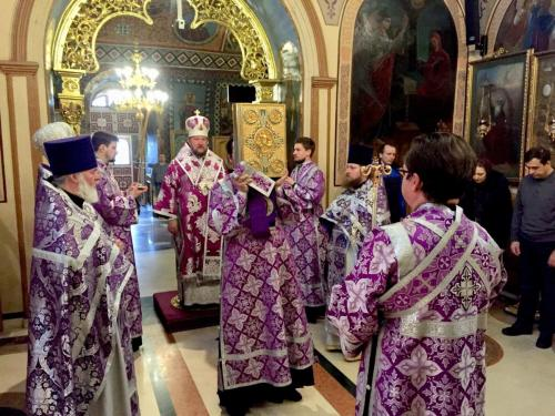 Света Литургија на Теодорову суботу (16.03.2019)