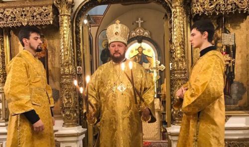Света Литургија у недељу 29. децембра 2019. године