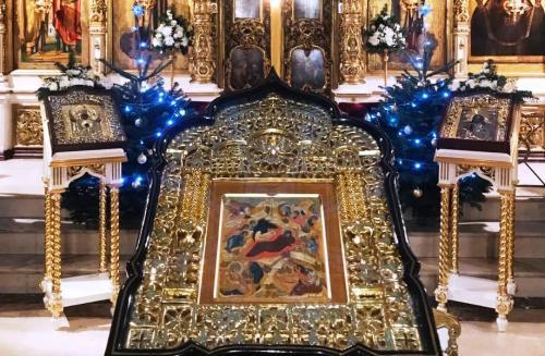 Празник Христовог Рођења у Подворју СПЦ у Москви (06-07.01.2020)