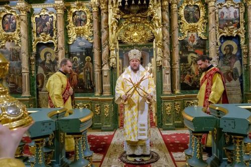 Бденије у Сампсонијевском собору у Санкт Петербургу (23.11.2019)