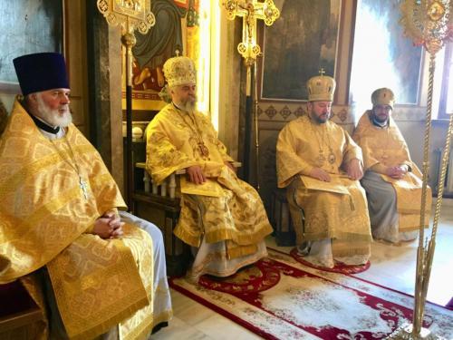 Литургија на празник Светих цара Константина и Јелене (03.06.2018)