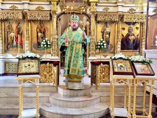 Света Литургија на Лазареву суботу (20.04.2019)