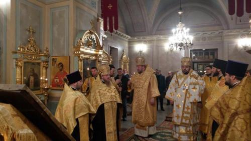 Бденије уочи Светог Николаја Чудотворца на Чешком подворју (18.12.2018)