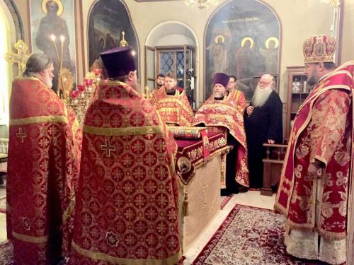 Бденије на навечерје празника Светог Димитрија Солунског (07.11.2019)