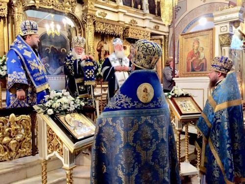 Литургија на празник Казанске иконе Пресвете Богородице (04.11.2019)