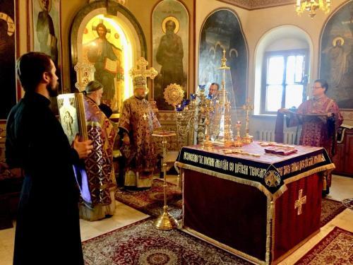 Света Литургија у Пету недељу Великог поста (14.04.2019)