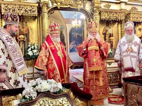 Света Литургија на празник Св. Димитрија Солунског (08.11.2019)