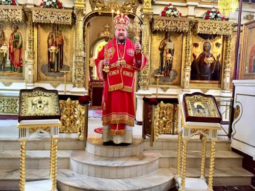 Света Литургија у Пету недељу по Васкрсу (26.05.2019)