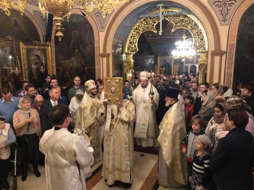 Прослава Божића на Подворју СПЦ у Москви (07.01.2019)