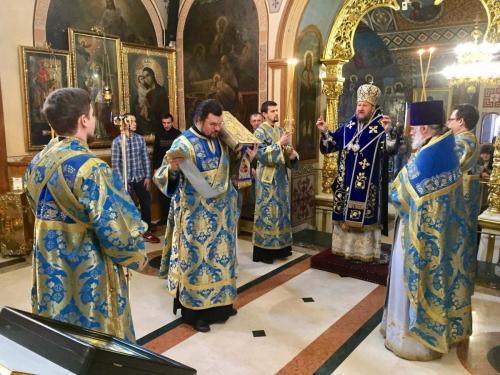 Литургија у суботу пете недеље Великог поста (24.03.2018)