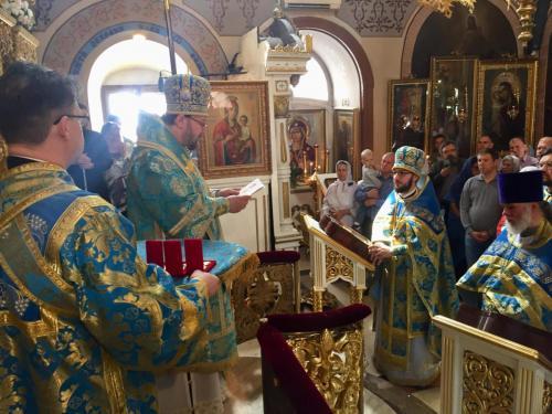 Света Литургија на празник Богољубске иконе (01.07.2018)