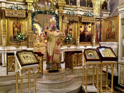 Литурија на празник Света Три Јерарха (12.02.2019)