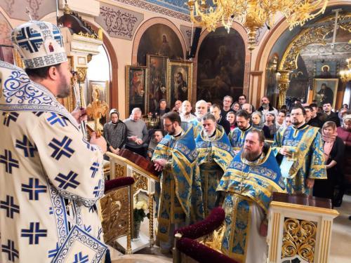 Литургија у Недељу о митару и фарисеју (17.02.2019)