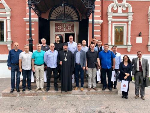 Официри Војске Србије у посети Подворју СПЦ (18.06.2019)