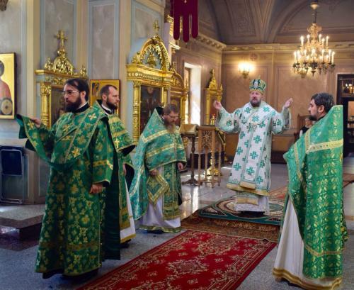 Света Литургија на Подворју Чешких земаља и Словачке (01.08.2018)