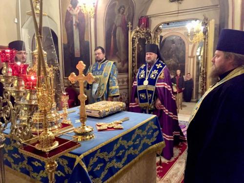 Бденије на навечерје празника чудотв. иконе Знаменије (09.12.2018)