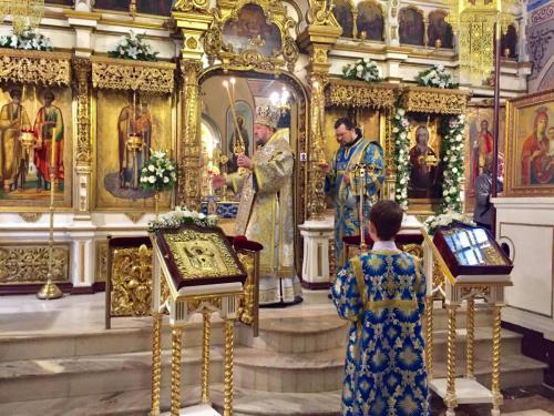 Литургија на празник Преп. Алимпија Столпника (09.12.2018)