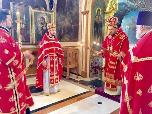 Света Литургија у среду Светле седмице (01.05.2019)